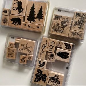 STAMPIN UP Outdoors Wildlife Stamp Sets